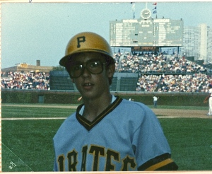 Me as Pirates batboy 1986