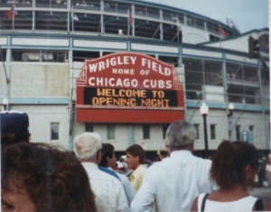 Opening Night 8-8-88 Marquee